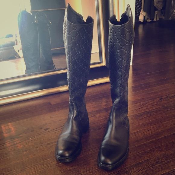 e50377da5e0 Gucci Maud Riding Boots-brand new